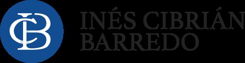 Logo Inés CB en negro